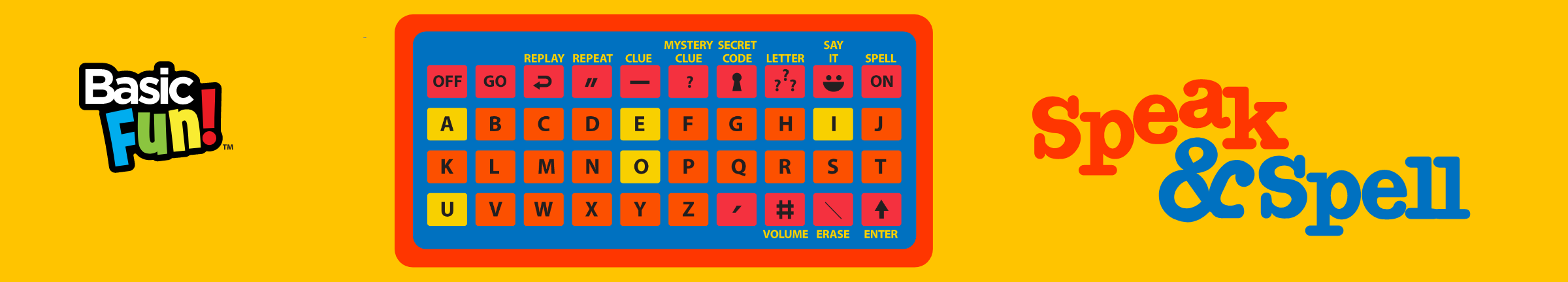 Arcade Classics | Speak & Spell | Basic Fun!