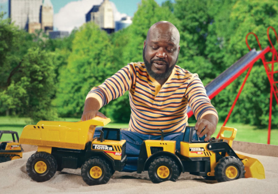 Tonka Tough' Toys Roll Out with Hall of Famer Encouraging Kids to 'Get Active and Play!