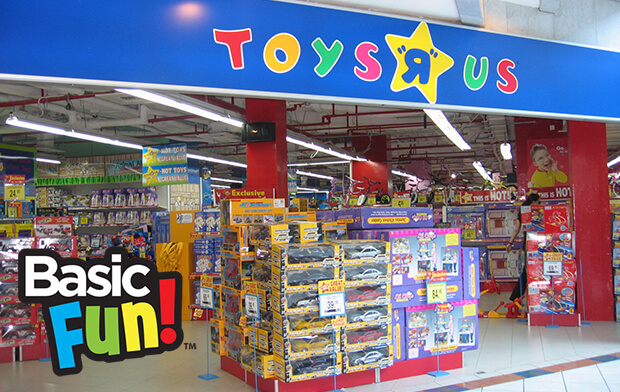 "Basic Fun! remains confident in the toy industry despite Toys ""R"" Us Bankruptcy"
