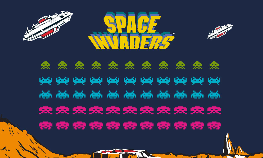 Space Invaders | Arcade Classics | Basic Fun!