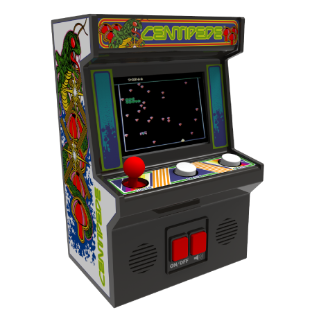 Arcade Classics - Centipede Retro Mini Arcade Game | Basic Fun!