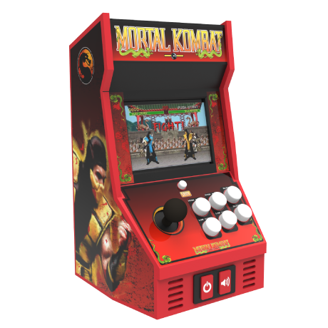Arcade Classics - Mortl Kombat Retro Mini Arcade Game | Basic Fun!