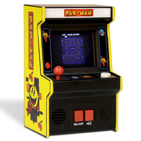 Arcade Classics - Ms. Pac-Man™ Retro Mini Arcade Game | Basic Fun!