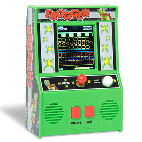 Arcade Classics - Frogger Retro Mini Arcade Game | Basic Fun!