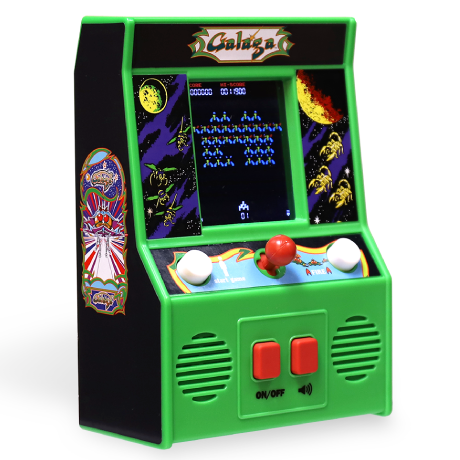 Arcade Classics - Galaga Retro Mini Arcade Game | Basic Fun!