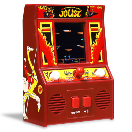 Arcade Classics - Joust  Retro Mini Arcade Game | Basic Fun!