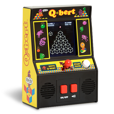 Arcade Classics - Q*bert Retro Mini Arcade Game | Basic Fun!