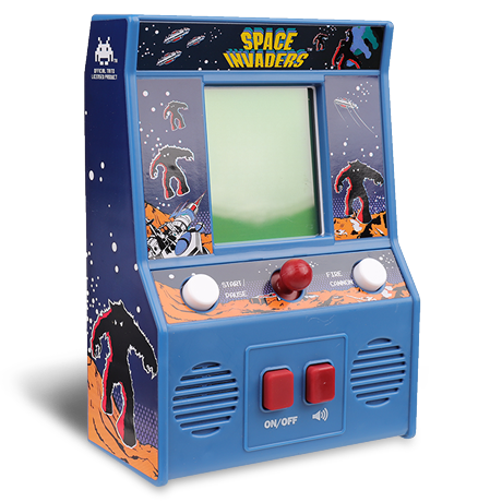 Arcade Classics - Space Invaders Retro Mini Arcade Game | Basic Fun!
