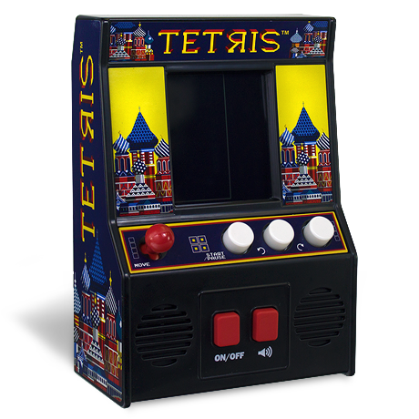 Arcade Classics - Tetris Retro Mini Arcade Game | Basic Fun!
