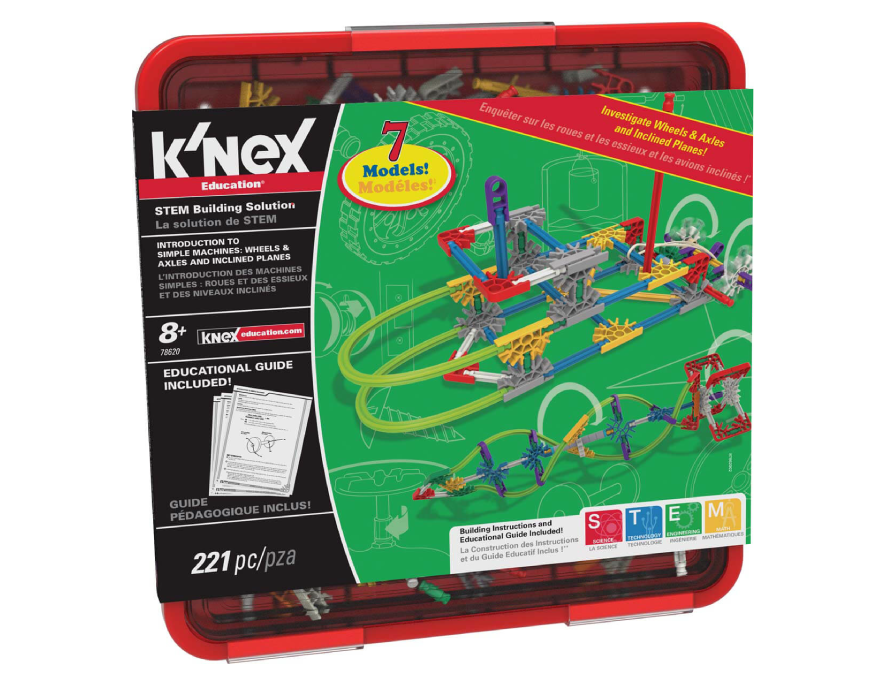 K'nex | K'nex Education | Intro To Simple Machines Wheels, Axles, & Inclined Planes Set | Basic Fun!