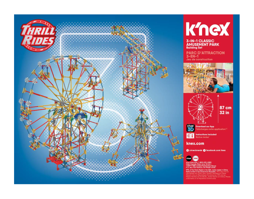 Creative Building Toys For Kids K Nex Basic Fun