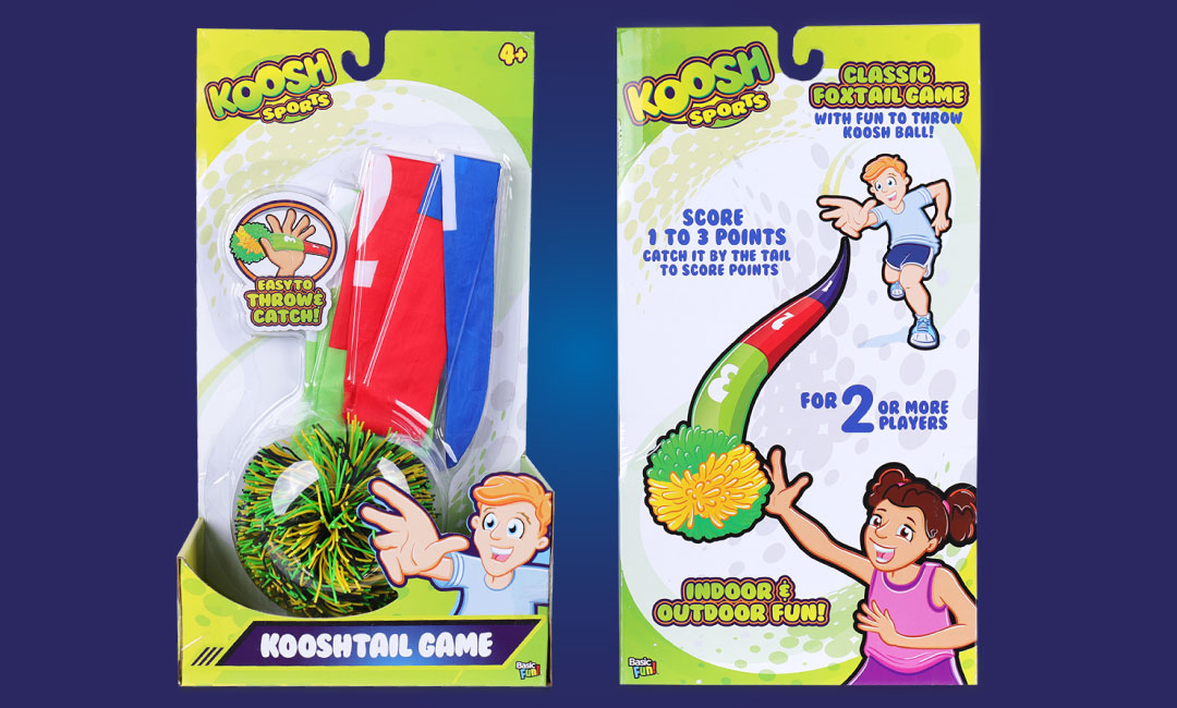 Koosh Classic Foxtail Game | Basic Fun!