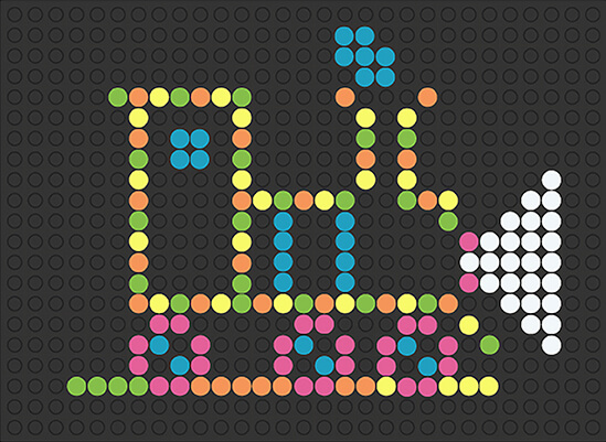 Lite • Brite | Train | Retro Deluxe | Basic Fun!
