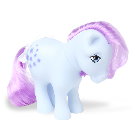 My Little Pony Classic | 35th Anniversary Classic Collection | Blue Belle | Basic Fun!