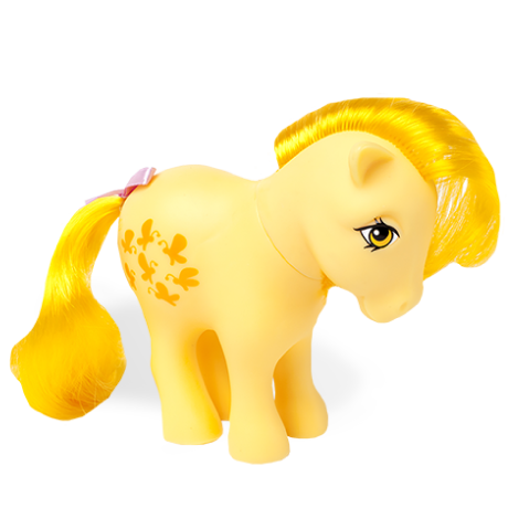 My Little Pony Classic | 35th Anniversary Classic Collection | Butterscotch | Basic Fun!