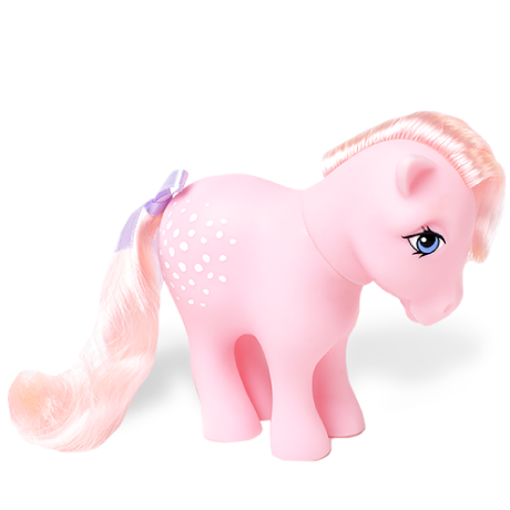 My Little Pony Classic | 35th Anniversary Classic Collection | Cotton Candy | Basic Fun!