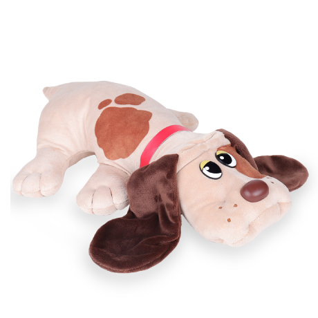 Pound Puppies | Classic | Beige with Brown Spots | Basic Fun!
