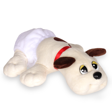 Pound Puppies | Newborns | Cream with Brown Spots | Basic Fun!