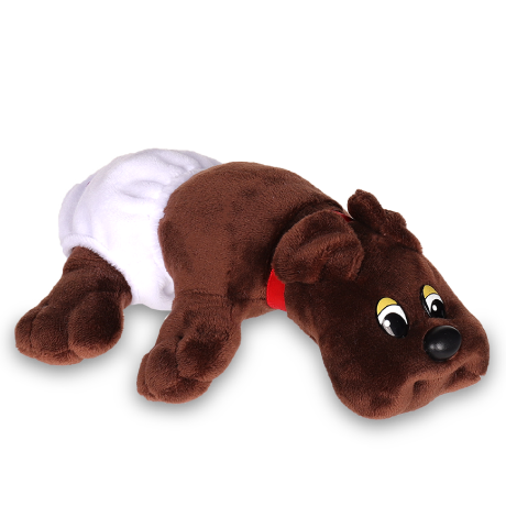 Pound Puppies | Newborns | Dark Brown | Basic Fun!