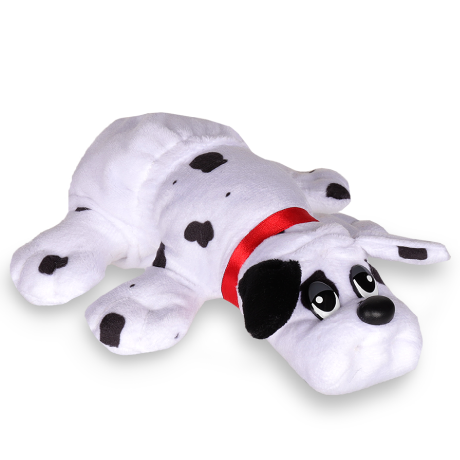 Pound Puppies | Newborns | White with Black Spots | Basic Fun!