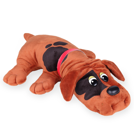 Pound Puppies | Classic | Red with Black Spots | Basic Fun!